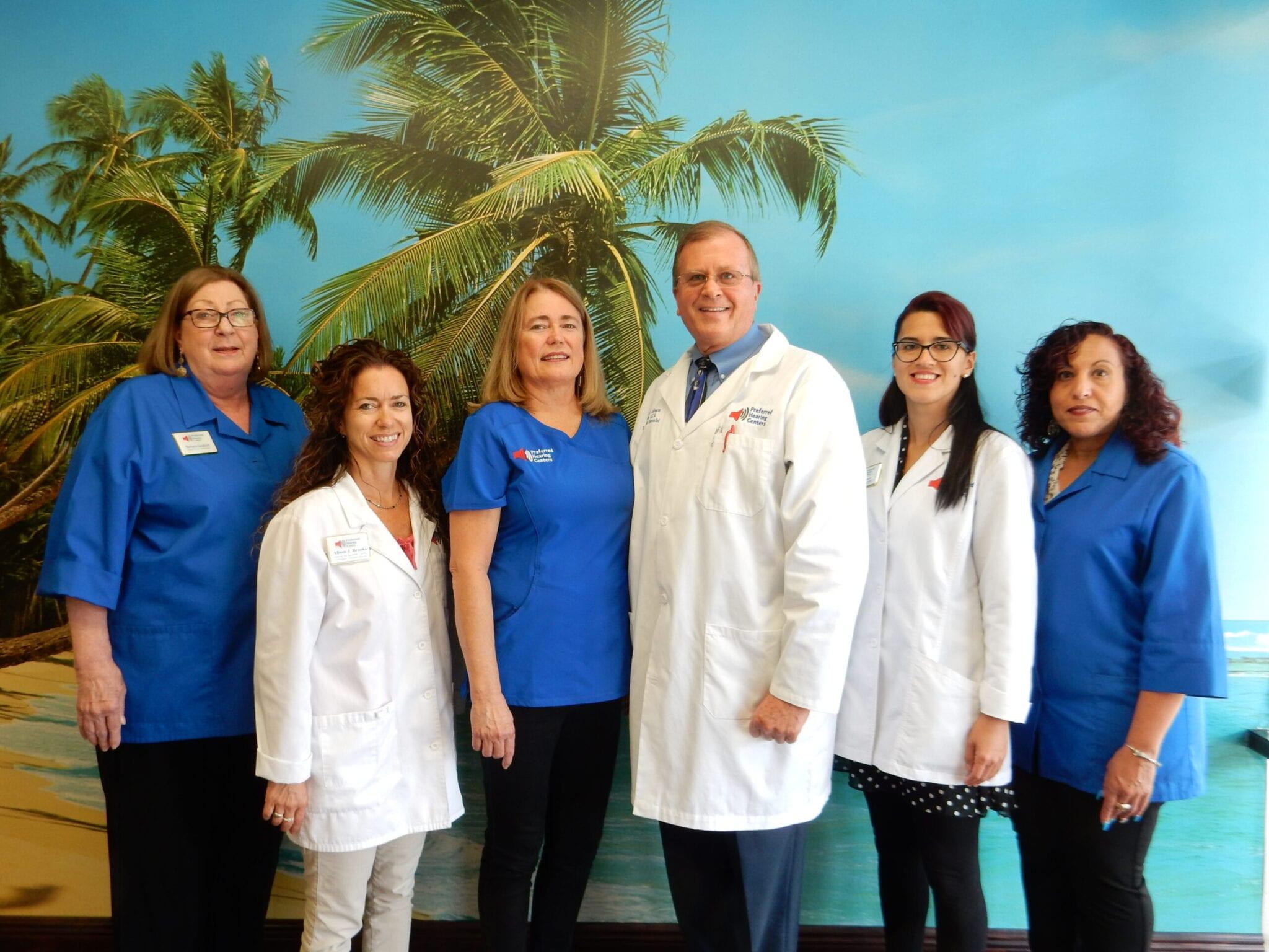 Preferred hearing centers team picture